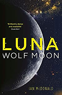 Luna: Wolf Moon cover