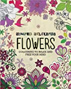 Inspired Colouring Flowers by Parragon Books