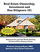 Real Estate Ownership, Investment and Due…