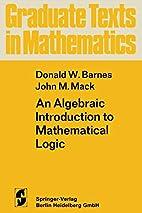 An Algebraic Introduction to Mathematical…
