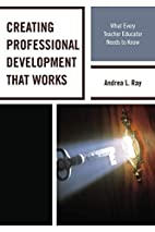 Creating Professional Development That…