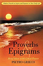 Proverbs and Epigrams: Brief Ideas with…