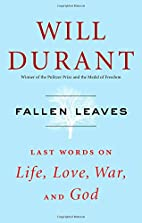 Fallen Leaves: Last Words on Life, Love,…