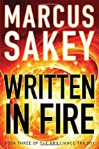 Written in Fire (The Brilliance Trilogy) by…