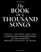 The Book of a Thousand Songs by Various…