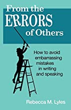 From the Errors of Others by Rebecca M.…