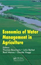 Economics of Water Management in Agriculture…