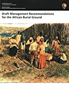 Draft Management Recommendations for the…