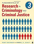 Fundamentals of Research in Criminology and…