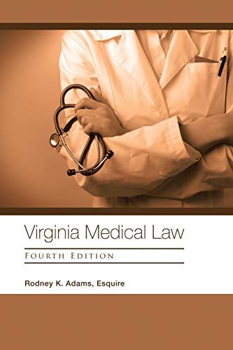 virginia-medical-law-fourth-edition