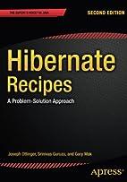 Hibernate Recipes: A Problem-Solution…