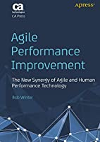 Agile Performance Improvement: The New…