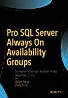 Pro SQL Server Always On Availability Groups…