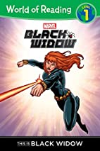 World of Reading: Black Widow This is Black…