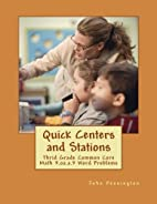 Quick Centers and Stations: Thrid Grade…