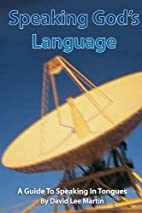 Speaking God's Language - A Guide To…