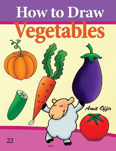 how-to-draw-vegetables-drawing-books-for-beginners-how-to-draw-comics-volume-22