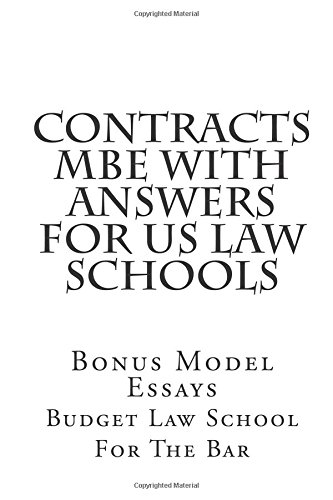 contracts-mbe-with-answers-for-us-law-schools-standard-contracts-mbe-handbook-for-the-mbe-examination
