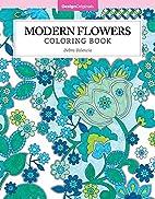 Modern Flowers Coloring Book (Color Studio)…