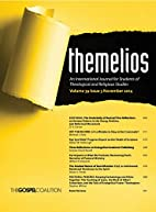 Themelios, Volume 39, Issue 3 by D. A.…