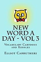 New Word A Day - Vol 3: Vocabulary Cartoons…