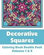 Decorative Squares Coloring Book Double Pack…