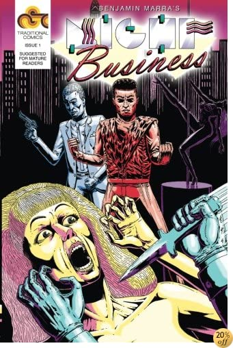 Night Business, Issue 1: Bloody Nights Part 1 (Volume 1)