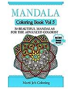 Mandala Coloring Book Vol 5: 50 Advanced…