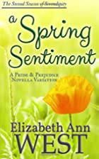 A Spring Sentiment (Seasons of Serendipity…