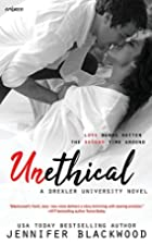 Unethical (Drexler University, #1) by…