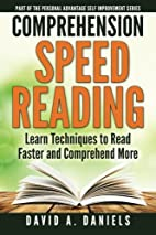 Comprehension Speed Reading: Learn…