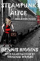 Steampunk Alice B&W: The Black & White…