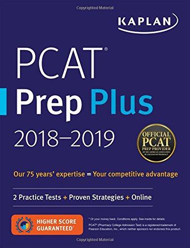 pcat-prep-plus-2018-2019-2-practice-tests-proven-strategies-online-kaplan-test-prep