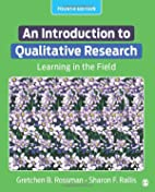 An Introduction to Qualitative Research:…