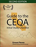 Guide to the CEQA Initial Study Checklist…
