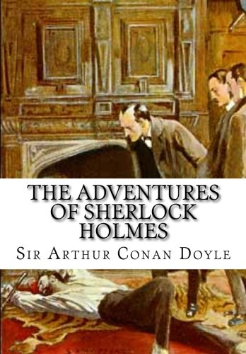 Cover of The Adventures of Sherlock Holmes by Sir Arthur Conan Doyle
