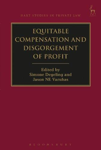 equitable-compensation-and-disgorgement-of-profit-hart-studies-in-private-law