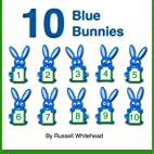 10 Blue Bunnies by Russell Whitehead