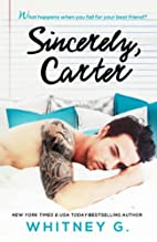 Sincerely, Carter (Sincerely Carter, #1) by…