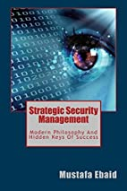 Strategic Security Management: Modern…