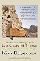 The Hidden Message of the Lost Gospel of…