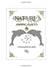 Nature's Hiding Places: A Coloring Book…