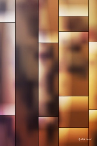 my-daily-journal-brown-tiles-abstract-lined-journal-6-x-9-200-pages