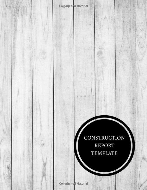 construction-report-template-construction-log-book