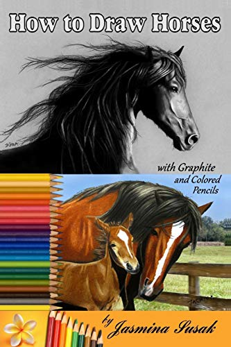 how-to-draw-horses-with-graphite-and-colored-pencils