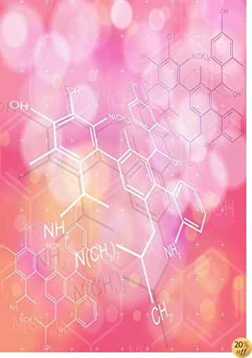 TNotebook - Chemical Structures Theme (Nerdy Notebooks)