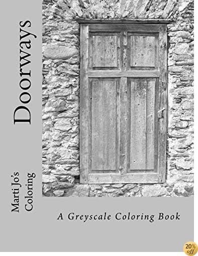 TDoorways: A Greyscale Coloring Book