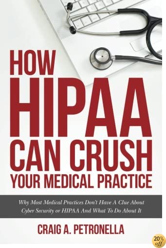 THow HIPAA Can Crush Your Medical Practice: Why Most Medical Practices Don't Have A Clue About Cybersecurity or HIPAA And What To Do About It