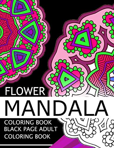 flower-mandala-coloring-book-black-page-and-one-side-paper-adult-coloring-book-for-grown-up