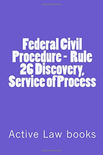 federal-civil-procedure-rule-26-discovery-service-of-process